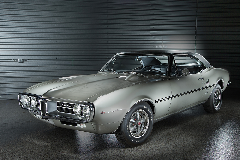 First Two Pontiac Firebirds Set For Auction - CARFAX Blog