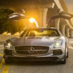 2014 Mercedes-Benz SLS AMG Black Series.