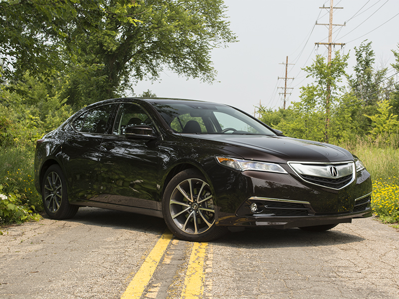 Acura TLX Review CARFAX - 2015 acura tlx mpg