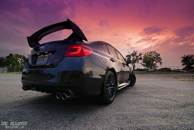 2015 Subaru WRX STi. Image by Eric Vilendrer via Flickr cc.