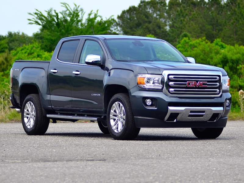 2016 gmc canyon review carfax. Black Bedroom Furniture Sets. Home Design Ideas