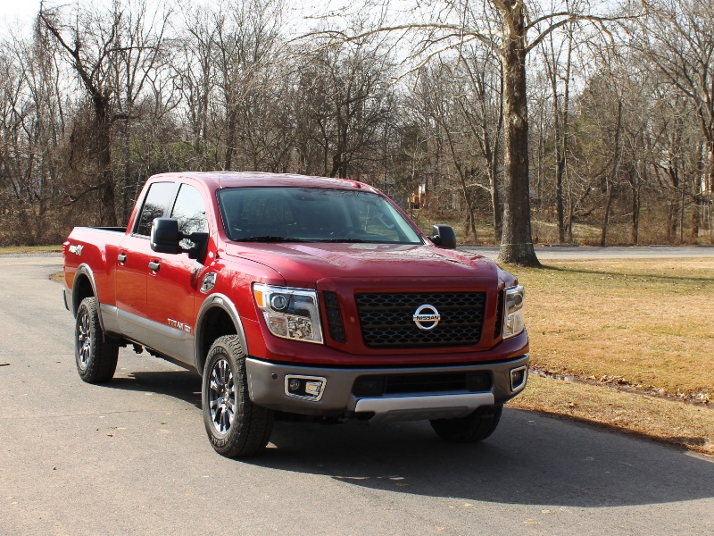 2016 nissan titan xd review carfax. Black Bedroom Furniture Sets. Home Design Ideas