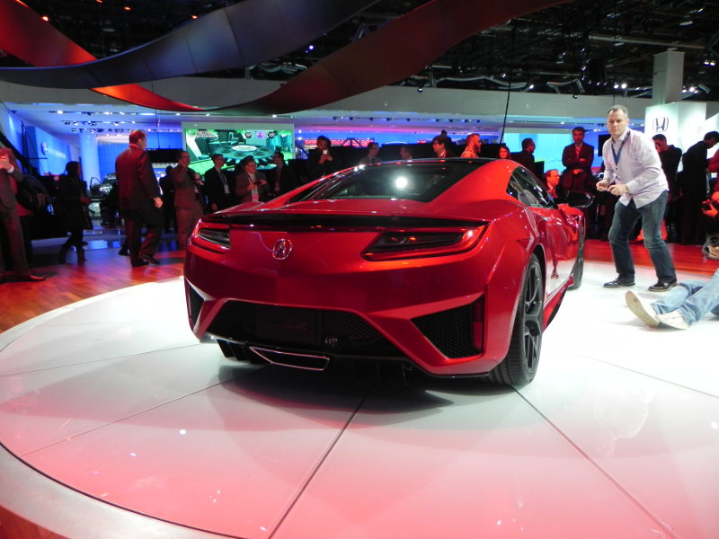 Acura NSX at Detroit Auto Show