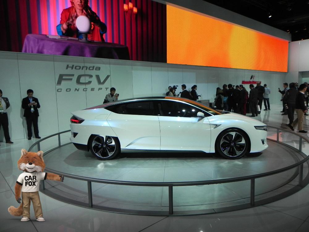 2016 Honda FCV Hydrogen