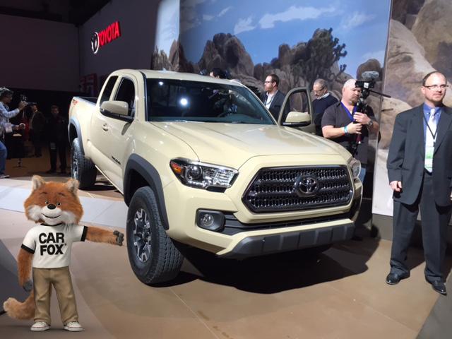 2016 Toyota Tacoma at Detroit Auto Show