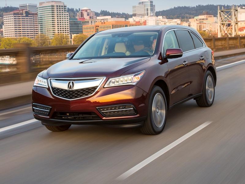 Acura MDX Reviews CARFAX - Acura suv 2014 price