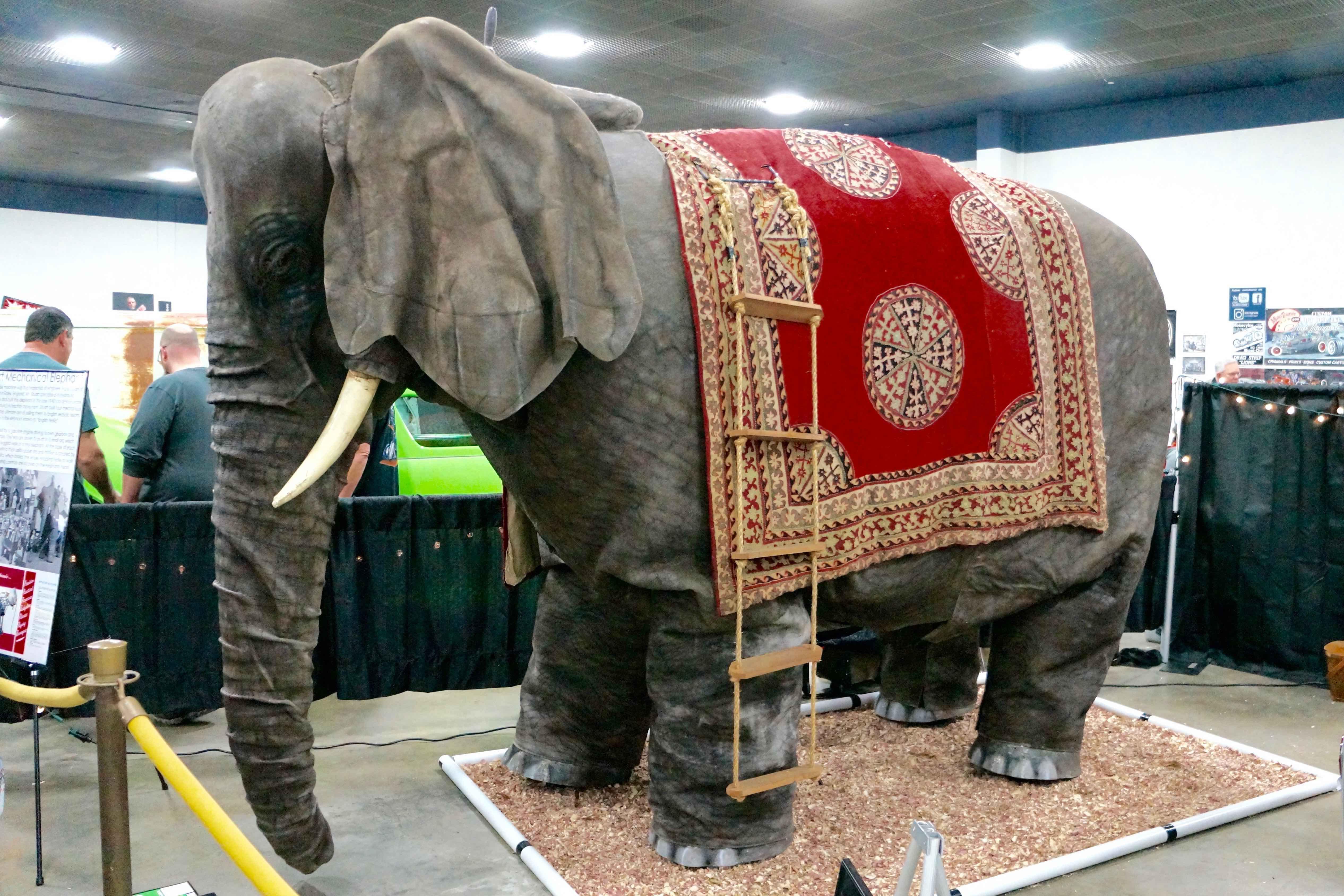 Stuart Mechanical Elephant