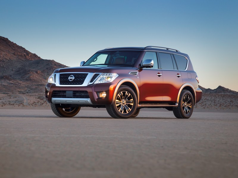 2017 nissan armada unveiled carfax. Black Bedroom Furniture Sets. Home Design Ideas