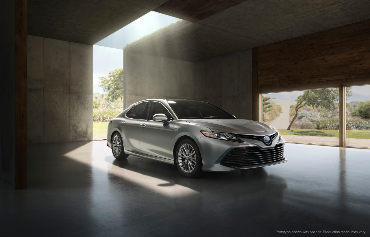 2018 Toyota Camry Revealed in Detroit - CARFAX Blog