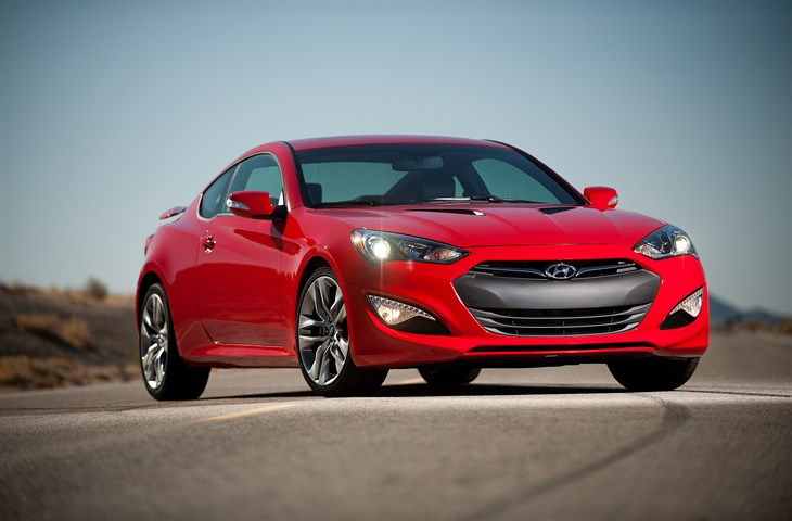 2016 Genesis Coupe