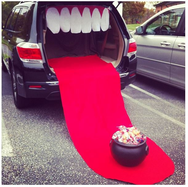 nice Decorate Truck Bed Halloween Part - 10: Big Mouth