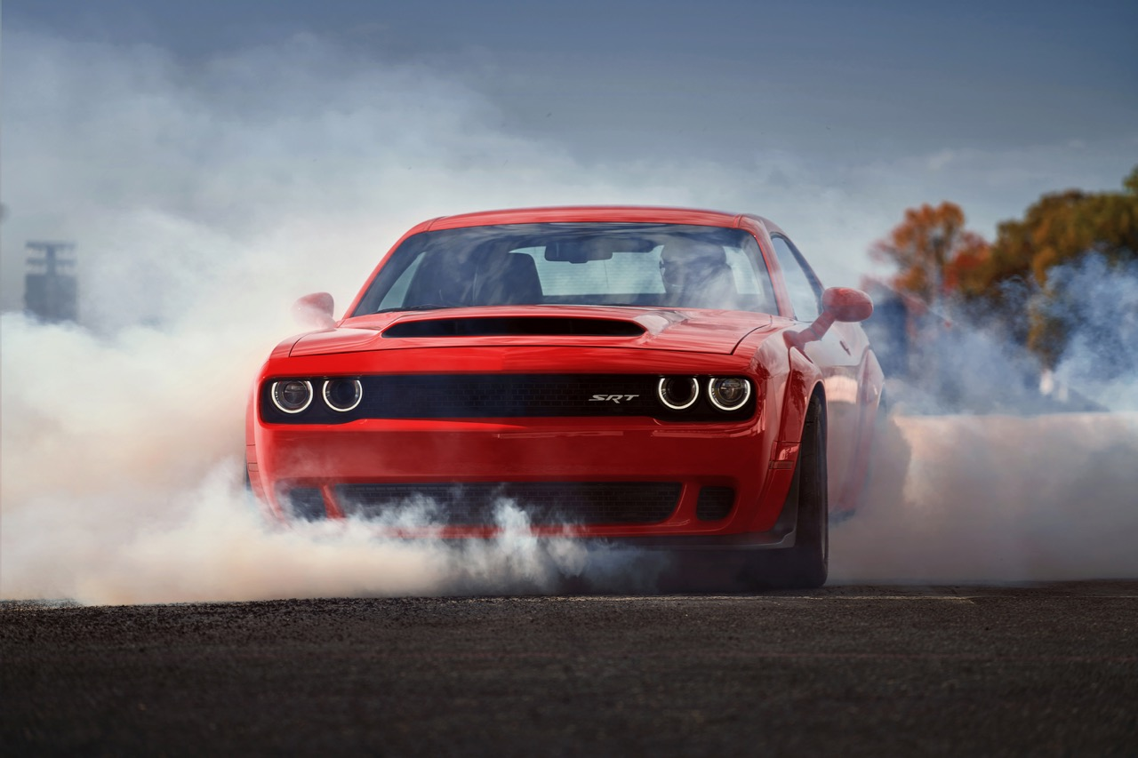 Revved-up Roundup: Modern-Day Muscle Cars Bring 2,016 Horsepower for 2017
