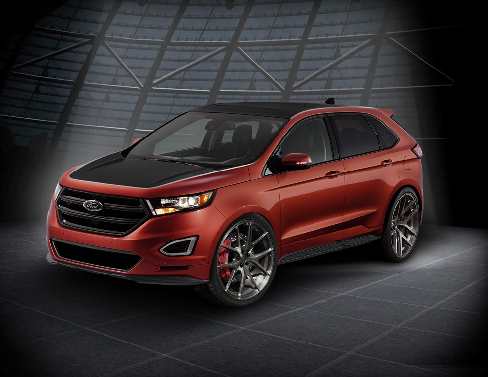 Ford Edge And Explorer Suvs The Ford Motor Company