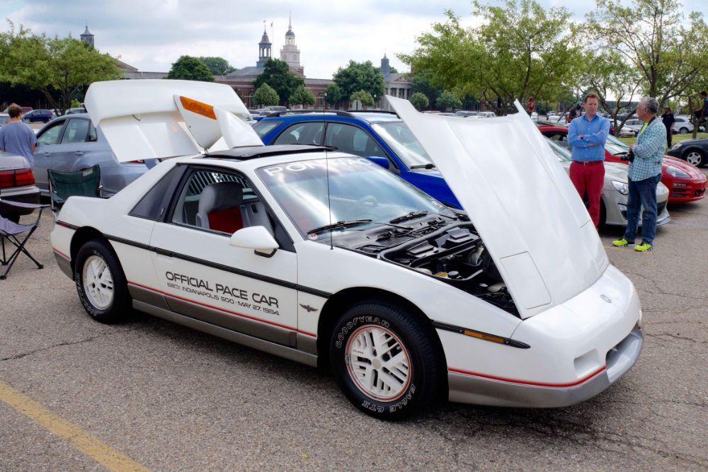 Pontiac Fiero Pace Car
