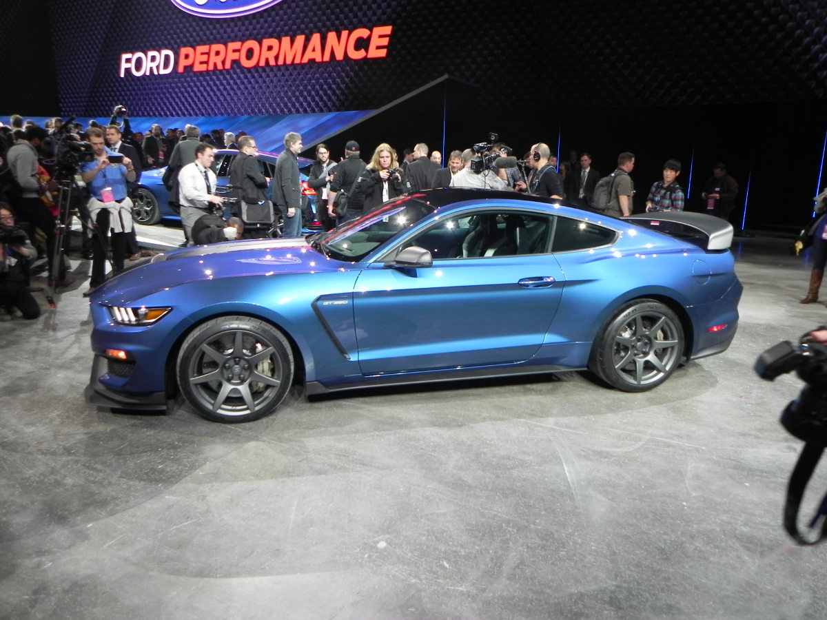 Ford Shelby GT350R Mustang at the Detroit Auto Show