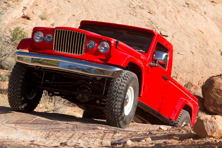 Jeep J-12 Concept (FCA US LLC)