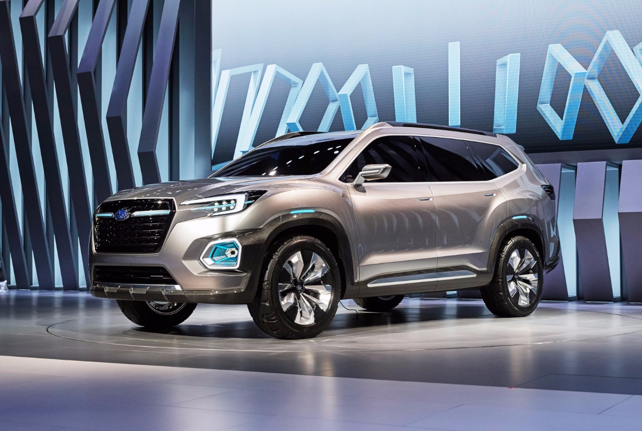 Subaru Viziv 7 Concept Revisiting the 3 Row SUV CARFAX Blog