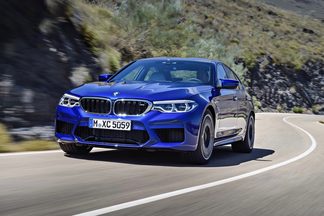 Redesigned 2018 BMW M5 Delivers Numerous First-time Features