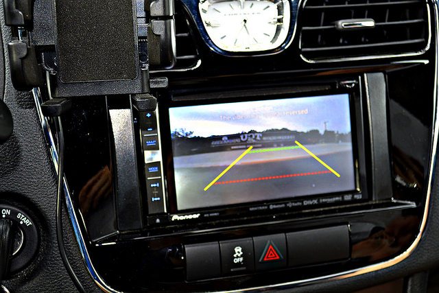 Backup cameras are a great safety technology. Image by ..Russ.. via Flickr cc.