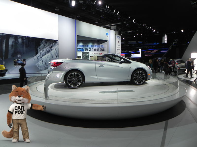 Buck Cascade concept car