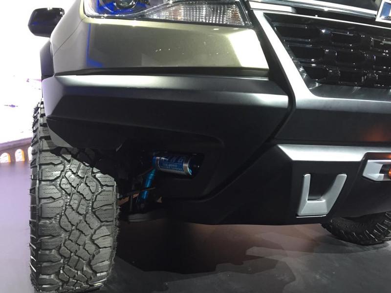 Chevy Colorado ZR2 Front