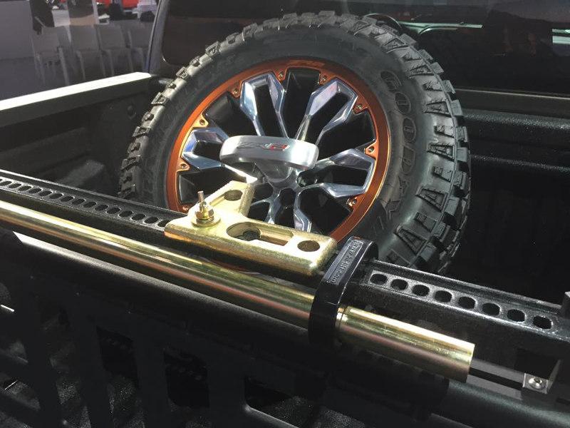 Chevy Colorado ZR2 Spare Tire
