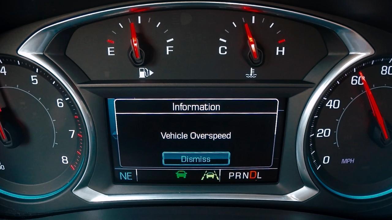 Teen Driver Overspeed Warning