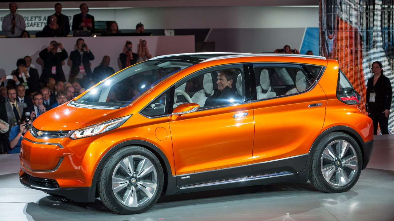 Chevrolet Bolt at the Detroit Auto Show