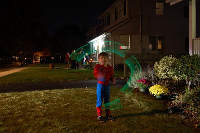 glow sticks this halloween