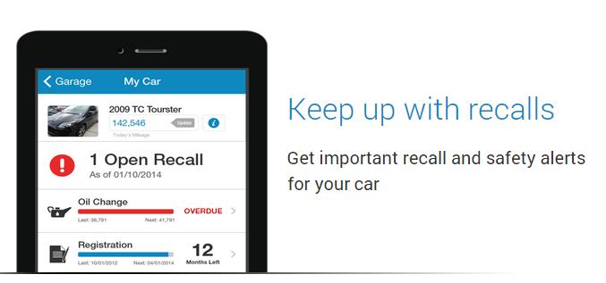 Get recall alerts