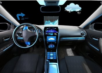 Future car dashboard