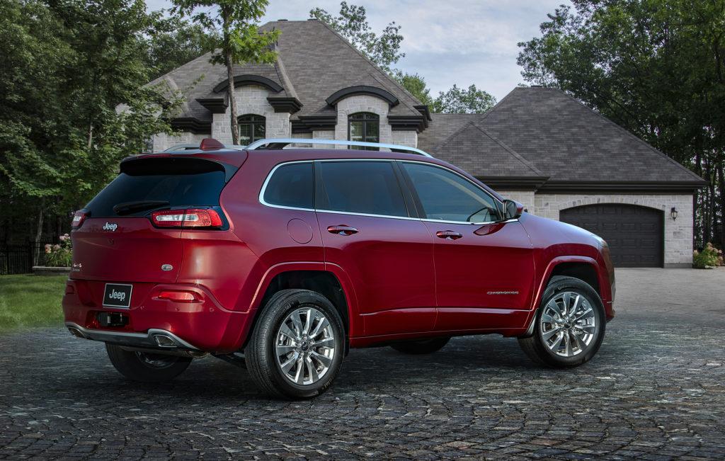 2018 Jeep® Cherokee Overland
