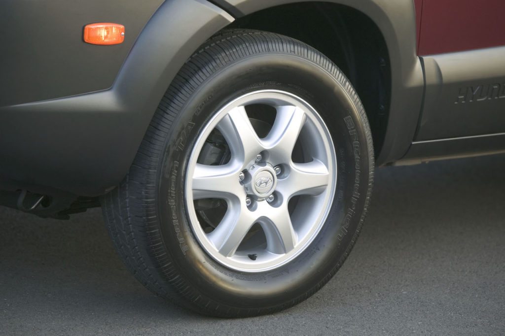 Hyundai Tucson Tires