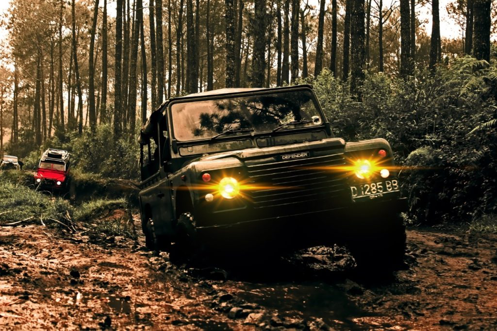 Land Rover Lighting
