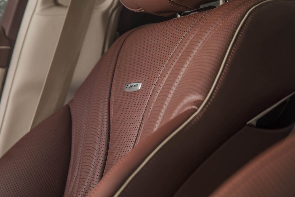 Mercedes Leather Seats