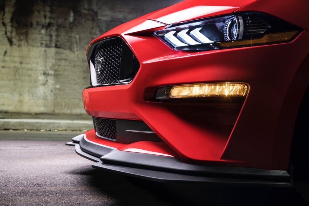 Mustang Front Splitter